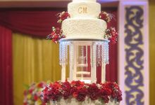 Weddingcake in 2019 - 5 tiers by RR CAKES