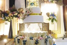 Wedding Cake 5 tier by RR CAKES