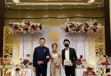Host-ing Sangjit Ceremony of Felix & Oline by Ws Entertainment