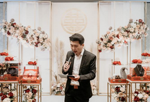 Host-ing Sangjit Ceremony of Andrew & There by Ws Entertainment