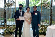 Host-ing sangjit & wedding ceremony of nico & Gigi by Ws Entertainment