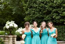 Bridesmaids Dress - Classic and Feminine Silhouette by Lunapompom
