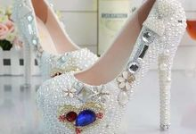 WEDDING SHOES by TIANXI TRADING PTE LTD