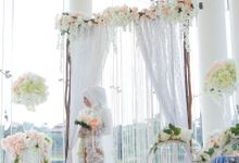 The Wedding of Wildan & Via by Eden Design