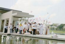 The Wedding of Wildan & Via by Eden Design