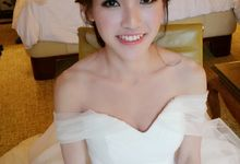 Wedding Actual Day Makeup & Hairstyling by Weiyee-makeup
