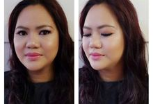 Makeup for Clients ( No Filters ) by Gale Dy Make Up Artistry