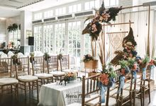 Tasha & Willie Engagement Decoration by Nona Manis Creative Planner