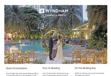 Wedding Packages by Wyndham Casablanca Jakarta