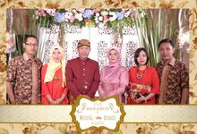 Wening & Bramas by Venue Photobooth