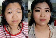 Makeup For Mom And Siblings by MakeupbyDeviafebriani