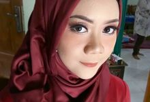 Peachy.Maroon Makeup by awmodis.makeup