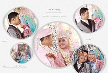 Album Kolase Pernikahan Mahmud & Rubhie . by oneclick.photo