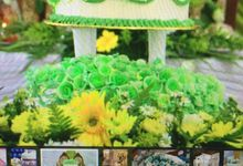 Wedding Cake by Sri Munura Catering Services