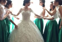 The Wedding Of Aji & Mesya by Vibonacci Event Crafter