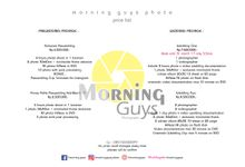Price List Promo by morningguys