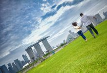 Couple Shoot At Marina Barrage by Gyver Chang Photography