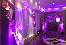 wedding set up by livesound pro sounds and lights