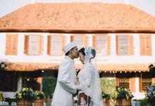Acara Akad Nikah Dan Resepsi Pernikahan Gema Agil by D'soewarna Wedding Planning