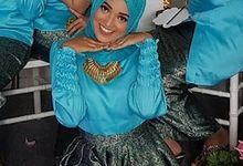 Bridesmaid Makeup by Abidahemasmakeup