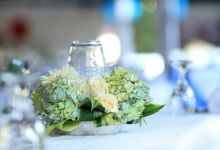 White & Blue Theme by Alevia Bali