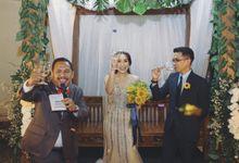 Wedding of Julian and Tiara by MC Klub Jakarta