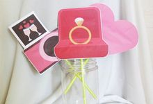 Rissa's Engagement Photobooth Property by ideberideproject