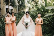Andrew & Agnes Bali Wedding - Reception by Levin Pictures