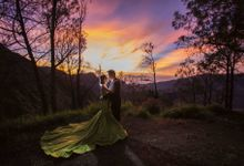 Ricky & Viane Bromo Prewedding by Levin Pictures