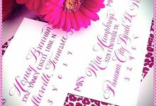 Calligraphy Envelope Addressing by Calligraphy By Jennifer