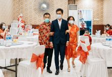 Engagement of Wenny & Putra at Golden Leaf Kelapa Gading by Warna Project