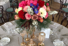 Wedding Reception - Howard Smith Wharf  by Yellow Leafz