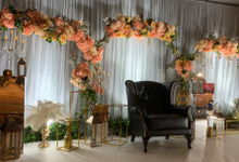 Flower Arch Backdrop by Yellow Leafz