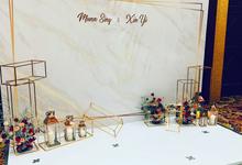 Minimalist Wedding Decor  by Yellow Leafz