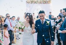 Wedding at Villa The Sanctus in Uluwatu by Bali Tie d' Knot