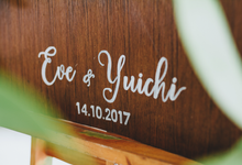 The Wedding of Eve & Yuichi by Bali Yes Florist