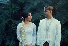 Ibrahim & Audrey Akad Nikah by Moss and Fern Studios