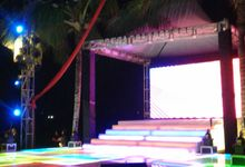 LeD Dance Floor And LEd Floating Stage by Alpatra productions