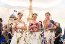 Flower Dress by defloriee flower boutique