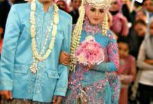 Gea And Husband Wedding by De-C MakeUp