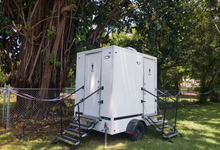 Contact us for a quote! by YML Portable Restrooms