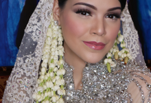 Claudia's Wedding by Yoga Septa Make Up
