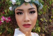 The Wedding of Sasha and Andhika by Yoga Septa Make Up