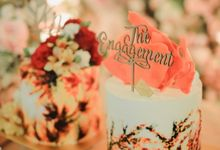 The engagement of Kenny & Dewi by Farine Pastry