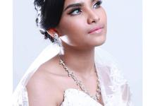 Bridal Makeup sample  by Yohana Intan Makeup Artist
