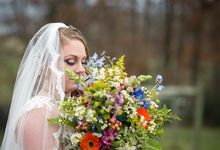 A Blue Ridge Mountain Dream Wedding by Brackney Photo Co.