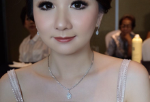 Makeup for Sister of the groom by Yosifransisca_makeup