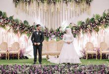 the wedding Friska & Riswan by Wanda Photography