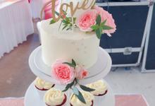 Wedding cake tower Malay wedding dessert table by Yoyosummer