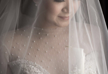 The Wedding of Andy & Yurike  by makeupbyyobel